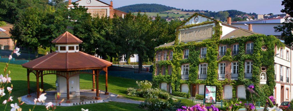 Saint Galmier Plan Centre De La Ville