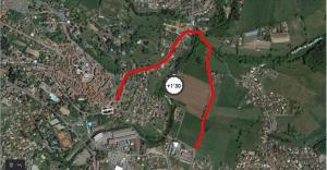 itinéraire de délestage par route de Chevrières